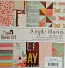 Simple Stories The Reset Girl 6x6 Paper Pad 24 Double Sided Sheets