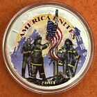 2001 US Silver Eagle Colorized American Heroes 9 11