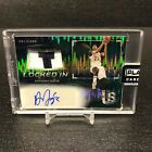 2016-17 Panini Spectra Anthony Davis Locked In Patch AUTO 4 5 GREEN Pelicans