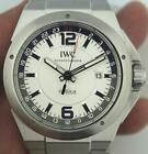 New FACTORY SEALED Box Papers IWC IW324404 Ingenieur GMT Watch White Dial $10K!