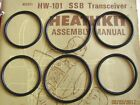 Six Replacement Drive Belts O Rings for Heathkit HW and SB Transceivers  268 7