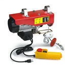 440 LB 110 Volt Electric Overhead Power Lift Hoist with Remote Switch