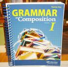 A Beka Grammar  Composition I  Vocabulary Spelling Poetry I Abeka Fifth ed 7th