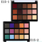 15Colors Natural Shiny Shimmer Matte Eyeshadow Palette Makeup Cosmetic Case JAK8