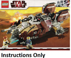 LEGO INSTRUCTIONS ONLY PIRATE TANK 7753 Star Wars manual book from set