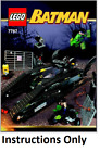 NEW INSTRUCTIONS ONLY LEGO BAT TANK RIDDLER  BANES HIDEOUT 7787 book from set