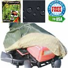Large Universal Riding Lawn Mower Tractor motorcycles Rain Snow Protection Cover