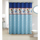 VCNY Christmas Chic 13 Pc Fabric Shower Curtain Set Assorted Styles