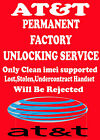 PERMANANET FACTORY Unlock Code Pin ATT samsung Focus S