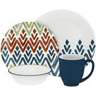 Corelle Vive 16-Piece Set Multiple Colors Zamba