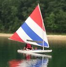 Intensity Sails Red White  Blue Race Style Sail for the Sunfish