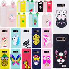 Cute 3D Soft Silicone Rubber TPU Case Back Cover For Samsung Galaxy S9 S8 Note8