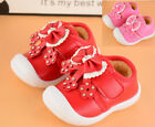 New Winter Baby Walking Shoes Infant Girls Toddler Warm Shoes Squeaky Size 4 7