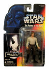 1996 KENNER STAR WARS POWER OF THE FORCE HAN SOLO IN CARBONITE ORANGE CARD
