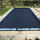 18X36 Rectangle Economy Inground Pool Winter Cover No Tubes 8 Yr Warranty