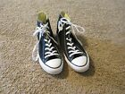 CONVERSE Chuck Taylor All Star High Top Canvas Shoes black size MENS 11