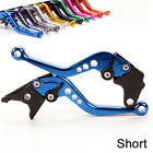 For YAMAHA TDM 850 1991-2001 2000 1999 1998 Anodized Short Brake Clutch Levers