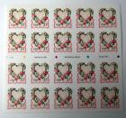 US Postage Stamps Booklet Scott 3274 LOVE BOUQUET WREATH 33 Cent MNH