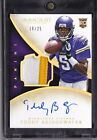 2014 Teddy Bridgewater Immaculate Gold AUTO 10 25 Rookie 3 Color Patch Autograph