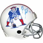 New England Patriots Rob Gronkowski AUTO GRAPHED Authentic Helmet Steiner Sports