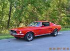 1967 Ford Mustang 2 DOOR FASTBACK 1967 MUSTANG FASTBACK 289 AUTO PS SOLID STRAIGHT BEAUTIFUL BRIGHT RED SHARP CAR