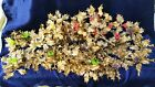 VINTAGE PLASTIC GOLD HOLLY BERRY CHRISTMAS TREE GARLAND