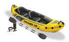Intex Explorer K2 Kayak 2 Person Inflatable Boat with Paddles and Pump