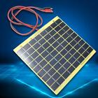 5Watt 12V Solar Cell Panel for Car Battery Trickle Charger Backpack Power DIY W