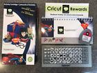 SUPERMAN Cricut Cartridge NOT LINKED with CR Points AND BONUS ITEMS RARE