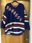 Authentic Vintage CCM Gerry Cosby New York Rangers Petr Nedved Jersey 93 Sz 50