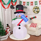 6 Indoor Outdoor Shivering Snowman Christmas Xmas Holiday Decoration Setting