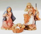 5 Inch Scale Fontanini Centenial Holy Family Set of 3 Figurines 51550