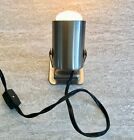 Mini Accent 5 High Adjustable Spot Light In Brushed Steel Mint Condition