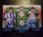 Aaron Judge Auto Autograph Signed Rc Bowman Draft Yankees Ian Clarkin Rookie