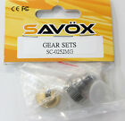 SAVOX SG-SC0252MG METAL SERVO GEAR SET with BEARING *NEW in PACK* Genuine Parts