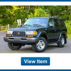 1996 Toyota Land Cruiser Base Sport Utility 4 Door 1996 Toyota Land Cruiser Diff Lock Rare Loaded 4WD 3rd Row Seat Tow FJ80 CARFAX