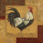 Loire Matin I - French Country Rooster by Pamela Gladding 12x12 Art Print Poster