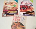 Weight Watchers Book Hit The Spot Book weight loss Points and 2008 Magazines