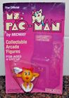 1982 COLECO MS. PAC-MAN COLLECTIBLE ARCADE FIGURE NEW IN