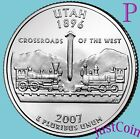 2007 P UTAH STATE UT QUARTER UNCIRCULATED FROM US MINT  STATE QUARTERS