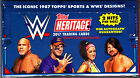 2017 Topps WWE Heritage Wrestling Factory Sealed Hobby Box