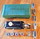 Vintage Singer Featherweight Buttonhole Attachment 160506, Templates, Box 84