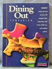 Weight Watchers WINNING POINTS Dining Out Companion Book 2002