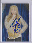 Miley Cyrus Signed Hannah Montana Foil Sticker Card AUTO with PROOF