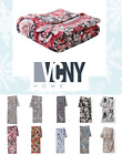 VCNY Home Ultra Soft  Plush Oversized Fleece Throw Blankets Assorted Styles