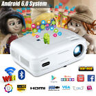 BL59 LED 6400 Lumen WiFi Android 6.0 1080P HD Projector Home Cinema for Iphpne8