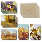 48 Pack All Occasion Assorted Blank Note Cards Greeting Card Bulk Box Set 6