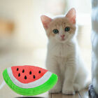 Plash Puppy Pet Dog Toy Play Squeaky With Sound Fruit Watermelon Shape Design