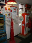 CLASSIC 1930S 1940S 1950S MOBILGAS GAS PUMP STATION ISLAND LIGHT WITH TOWEL BOX