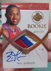 2008-09 UD EXQUISITE RC #94 ERIC GORDON AUTO 3 COL JERSEY PATCH 055 225